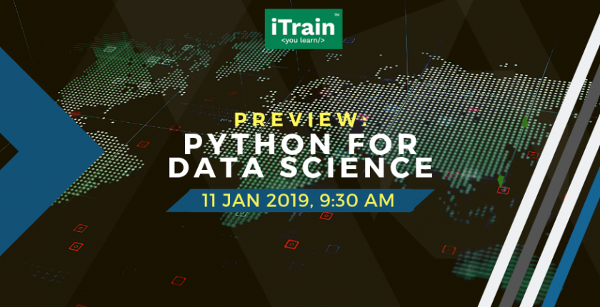 Preview: Python for Data Science - iTrain (M) Sdn Bhd