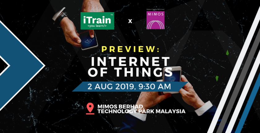 Internet of Things by MIMOS iTrain